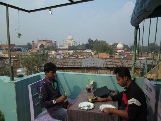 Shanti Lodge: @ Rooftop Resturant