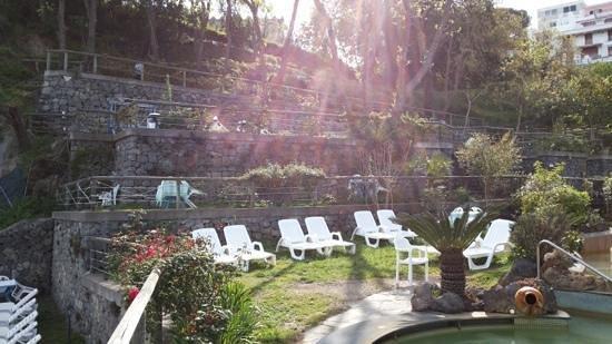 Hotel Giardino delle Ninfe e La Fenice : parte del giardino