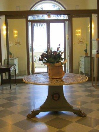 Hotel de Paris Sanremo : ingresso