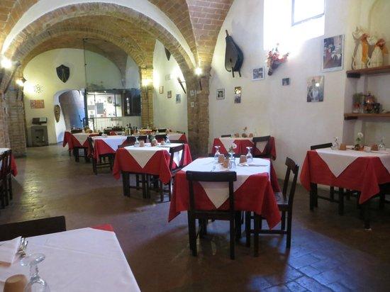 Messer Boccaccio : I tavoli interni