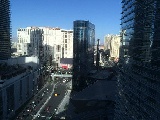 ARIA Resort & Casino: View from our room