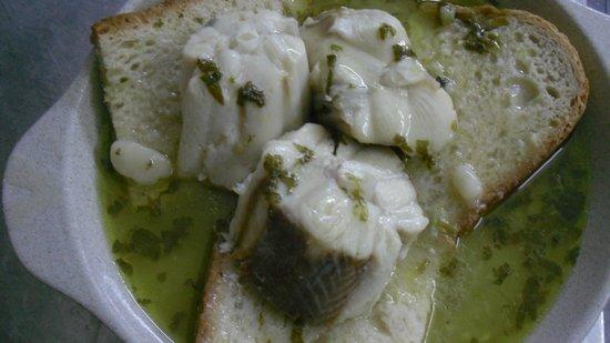 Restaurante A Muralha : sopa de cação