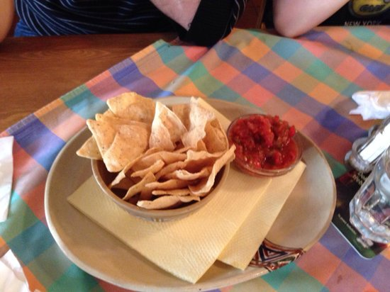 Cantina : Chips und Salsa