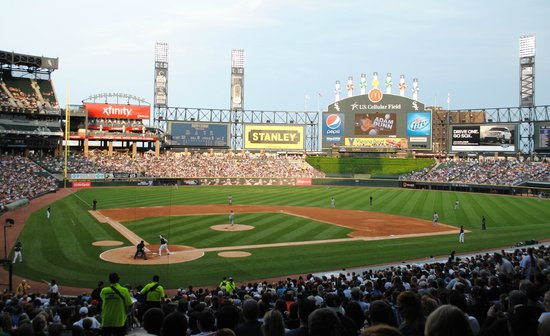 US Cellular Field: View from 100 level