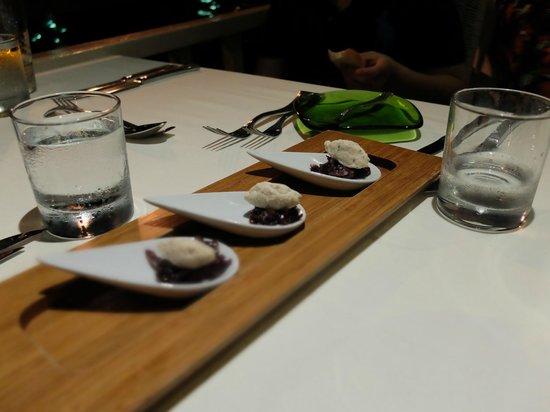 The Edge Restaurant Bar & Sushi : Amuse Bouche