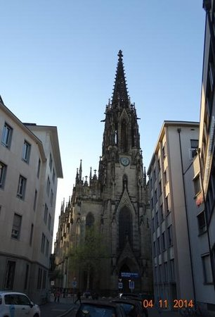 Open Church Basel : The view