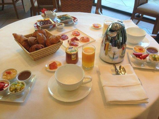 Relais de la Poste : Petit-déjeuner gourmand
