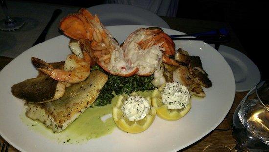 1st Lobster: Fischplatte