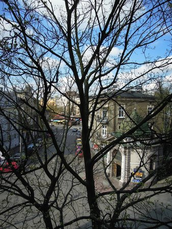 Benefis: view from bedroom 35