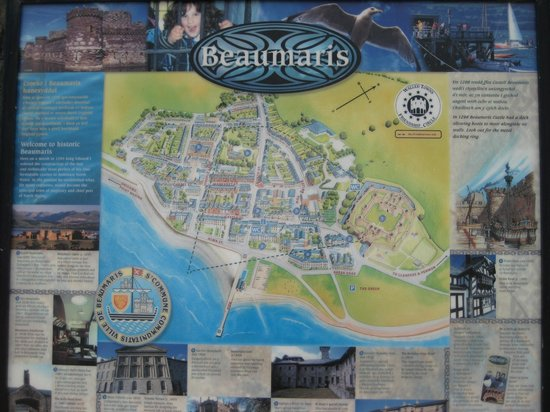 Beaumaris Castle : le château