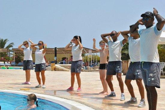 Three Corners Fayrouz Plaza Beach Resort : les moniteurs