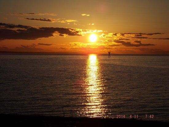 Semiahmoo Resort: AMazing sunset