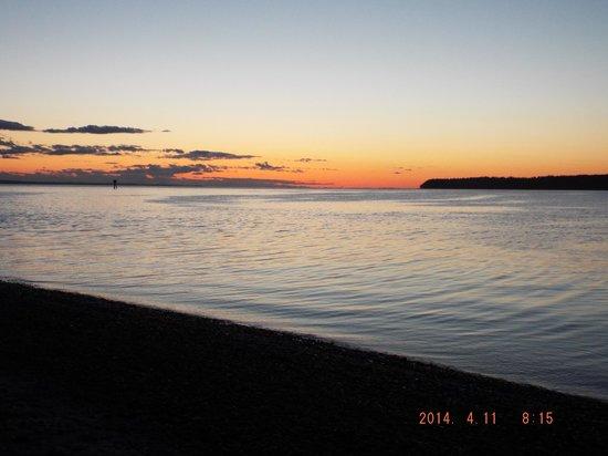 Semiahmoo Resort: lovely sunset