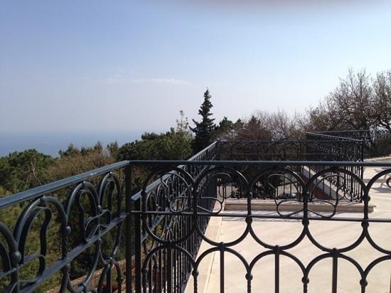 Tui Sensimar Grand Hotel Nastro Azzurro : view from sun terrace