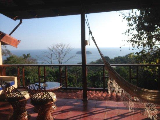 Villas Nicolas: View from out bedroom door