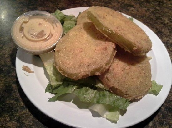Daisy Dukes Express : Fried Green Tomatoes - off the chain delicious!