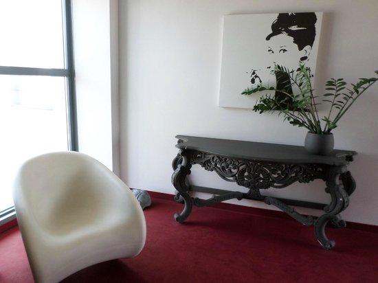 Art Hotel Olympic : Louge/Corridoio