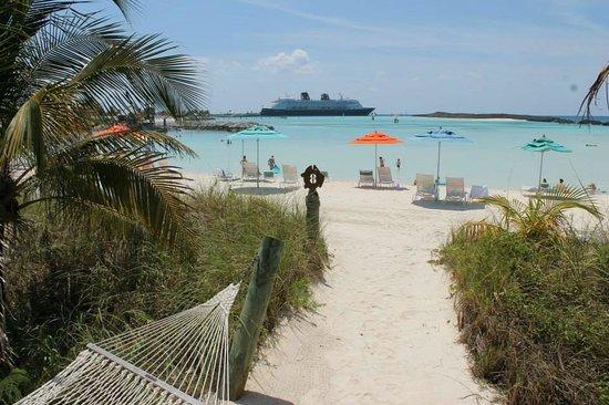 Castaway Cay: Cabana number 8