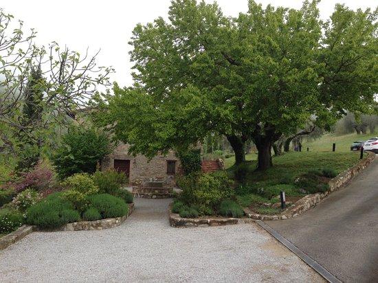 Villa di Monte Solare: panorama alloggio