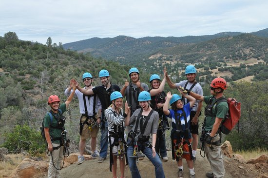 Yosemite Ziplines and Adventure Ranch: High Five Fun!