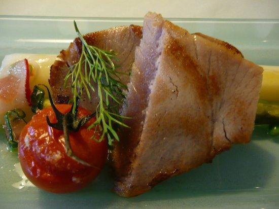 Landgasthof Rebstock: Gasthaus Rebstock Thunfisch mit Spargel