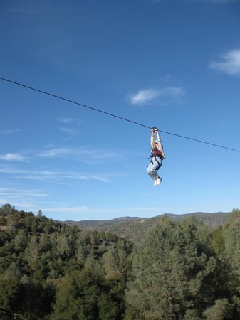 Yosemite Ziplines and Adventure Ranch : Beautiful day...