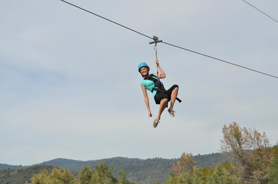 Yosemite Ziplines and Adventure Ranch: Smile!!