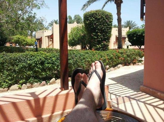 Nubian Village Hotel: Вид из бунгало