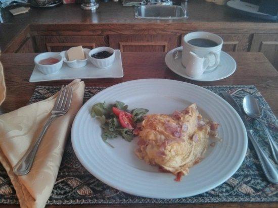 Au Clos Rolland, Couette & Cafe: Breakfast