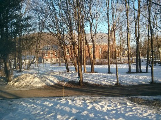 Au Clos Rolland, Couette & Cafe: View of maple trees