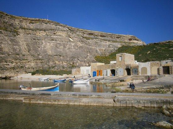 Prospettiva finestra azzurra foto di dwejra bay isola - Finestra sul mare malta ...