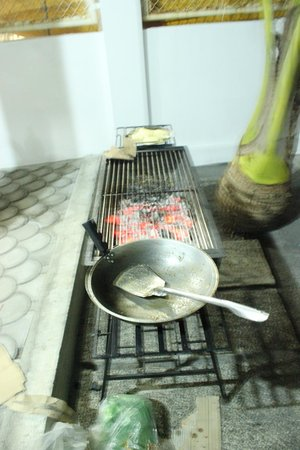 Bonito Beach Resort : Clean grill area