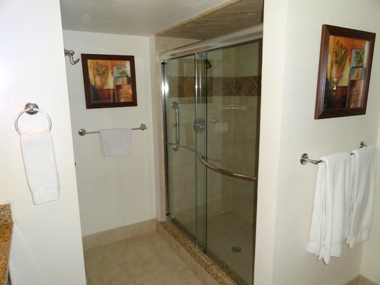 Polynesian Isles Resort : Master bath shower