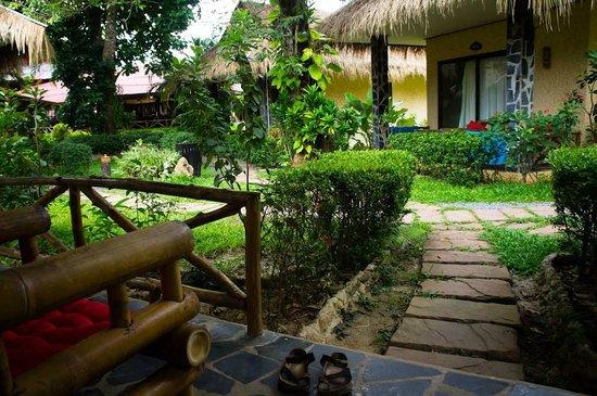 Garden Resort: Garden bungalow
