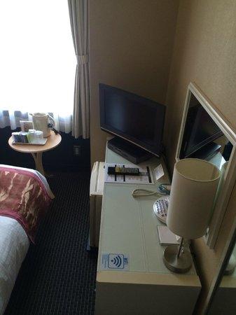 Tokyo Hotel Horidome Villa : tiny room