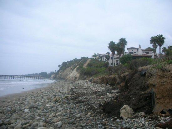 The Ritz-Carlton Bacara, Santa Barbara : View of Bacara from the beach.