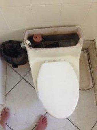 Sapphire Beach Club Resort: Broken Toilet