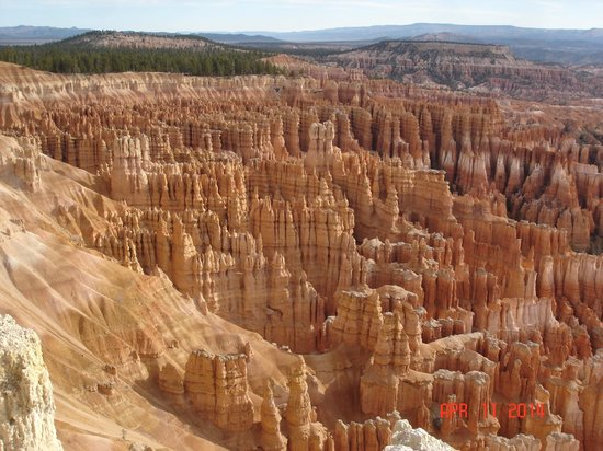 Bryce Canyon National Park: View from Inspiration Point