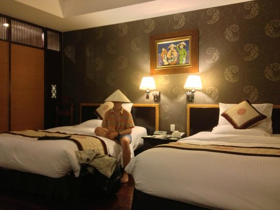 Rex Hotel: large comfortable rooms
