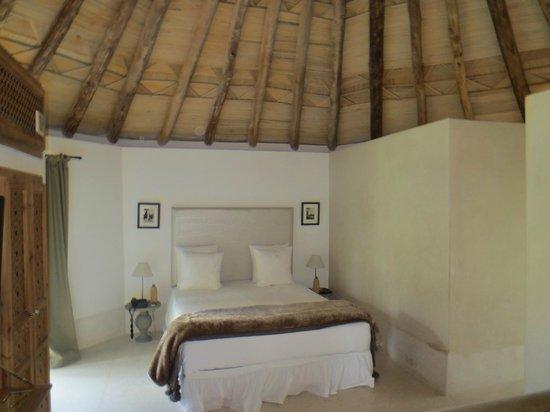 Hotel Les Cinq Djellabas : our room