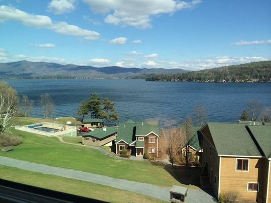 The Inn at Erlowest: View from the Lake George Room