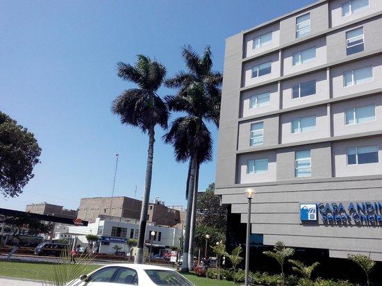 Casa Andina Select Chiclayo : la entrada