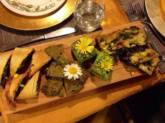 Osteria All'Antica: Antipasto alle erbe