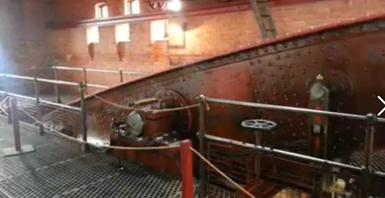 Claymills Victorian Pumping Station: The power from a beam engine this size is unimaginable.