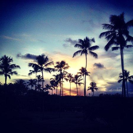 Nannai Resort & Spa: Pôr do sol.