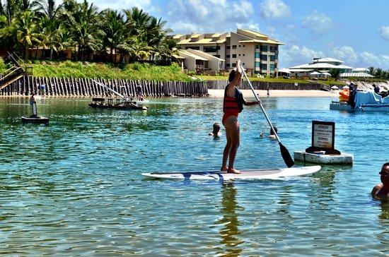 Nannai Resort & Spa: Stand Up paddle - free - SUP