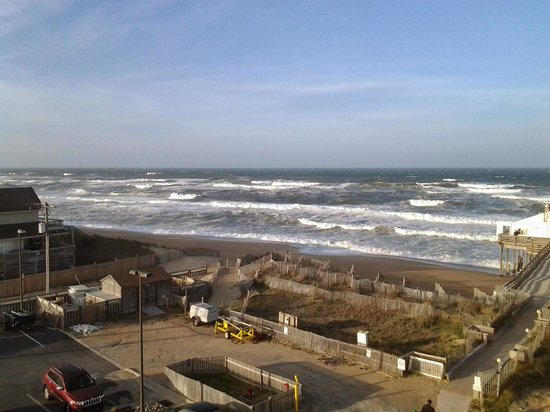 Hilton Garden Inn Outer Banks/Kitty Hawk : View from room 414.