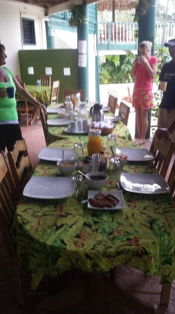Belize Jungle Dome: Dinner