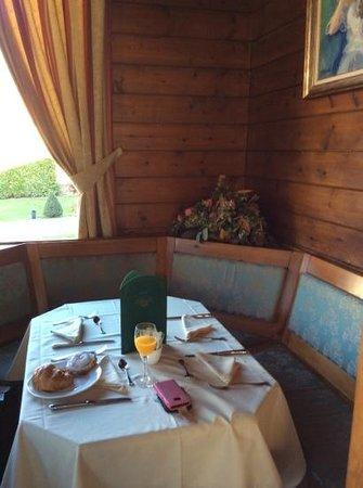 Hotel Grevol Spa : zona desayuno
