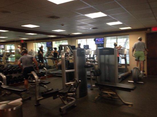 Hawks Cay Resort : Sehr gut ausgestattetes Gym